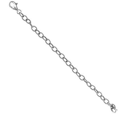 "Carolyn Pollack 6""L Sterling Silver Extender Chain"
