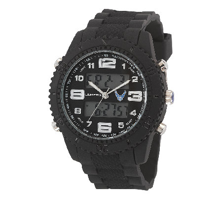 Wrist Armor Men's U.S. Air Force C27 Black & White Watch