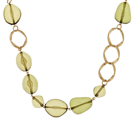 Linea by Louis Dell'Olio Free Form Bead Necklace
