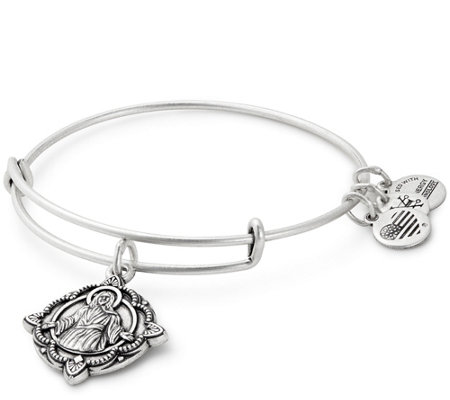Alex and Ani Jesus Charm Bangle