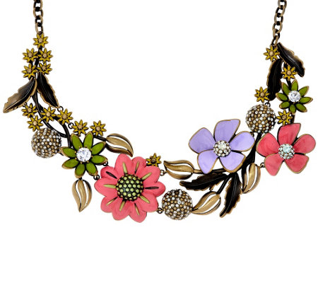 """As Is"" Joan Rivers Ltd. Ed. Enchanted Garden 18"" Necklace"