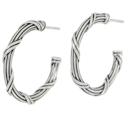 "Peter Thomas Roth Sterling Signature Classic 1"" Hoops"