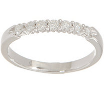7-Stone Diamond Band Ring, 1/4 cttw, Sterling, by Affinity - J354155