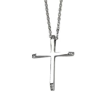 Steel By Design Stainless Steel Cross Pendant