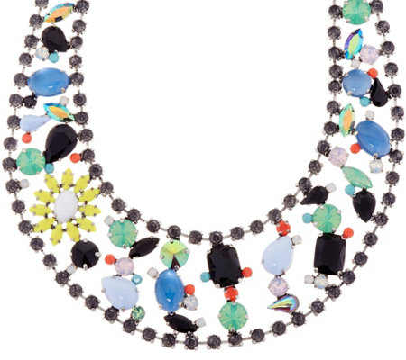 Logo Links By Lori Goldstein Extravagant Tropicana Collar Necklace