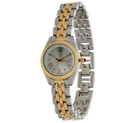 Liz Claiborne New York Mini Coin Edge Bracelet Watch
