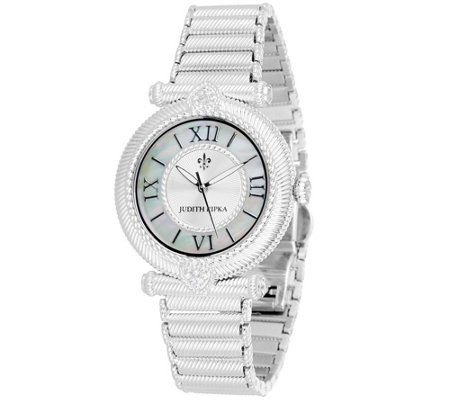 Judith Ripka Stainless Steel Avignon Watch