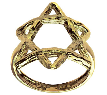 Adi Paz Star of David Ring, 14K Gold
