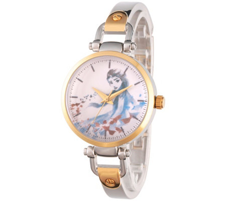 Disney Frozen 2 Women's Elsa Two-Tone Watch