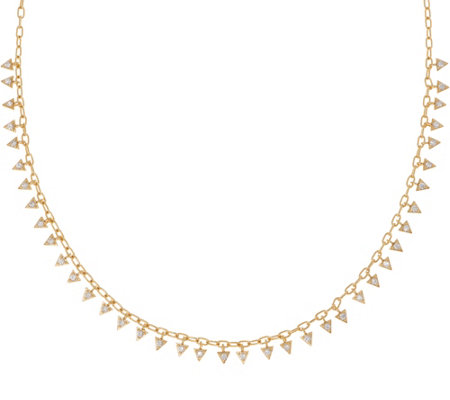 Melinda Maria Mini Fringe Necklace - Petra