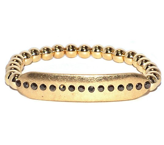 Marlyn Schiff Dotted Bar Stretch Bracelet