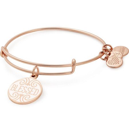 Alex and Ani Blessed Charm Bangle