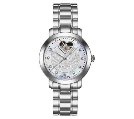 Roamer Women S Automatic Sweatheart Steel Watch