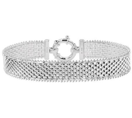 Imperial Silver 7 1 4 Bold Panther Link Bracelet 14 9g