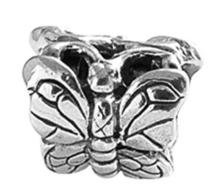 Prerogatives Sterling Butterfly Bead