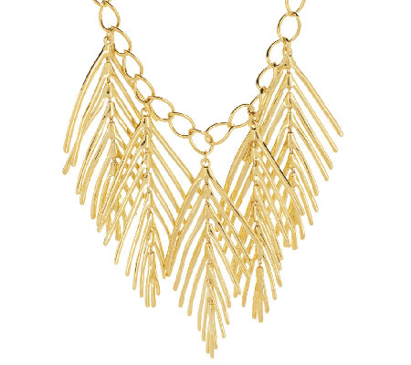 Linea by Louis Dell'Olio Palm Leaf Necklace