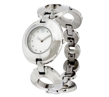 RLM Stainless Steel Organic Circle Adjustable Watch