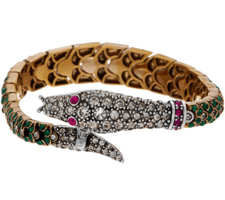 Joan Rivers Private Collection Pave' Snake Bracelet