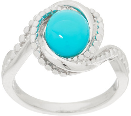 Sleeping Beauty Turquoise Ring, Sterling Silver
