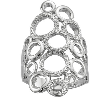 Sterling Circles Ring
