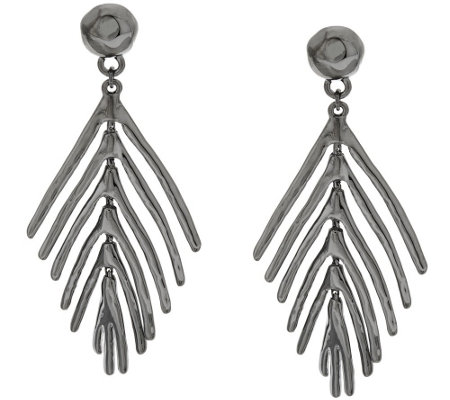 Linea by Louis Dell'Olio Palm Leaf Earrings