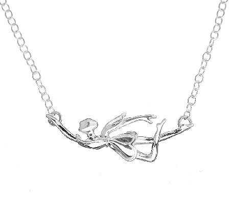 Hagit Sterling Dancing Fairy Necklace