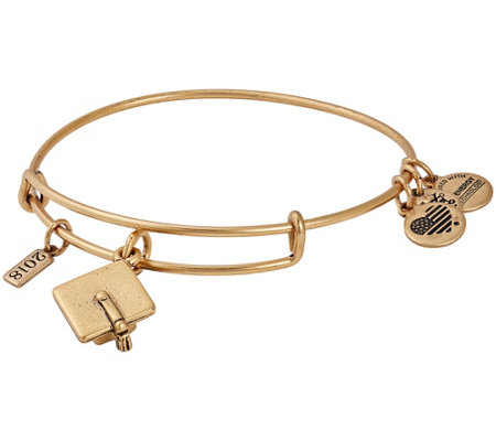 Alex and Ani 2018 Graduation Cap Charm Bangle