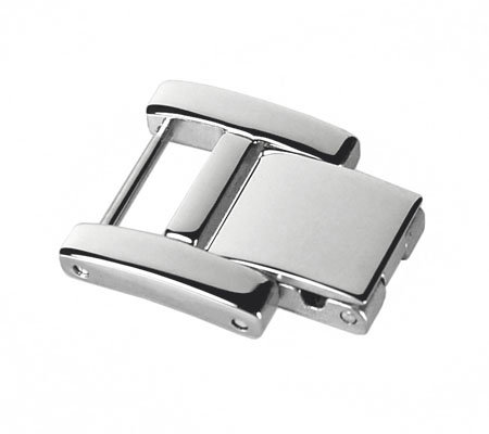 Ecclissi Silvertone Stainless Steel Watch Extender Clasp