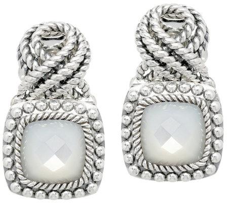 5f74ff06abae9 Tiffany Kay Studio Sterling Gemstone Earrings — QVC.com