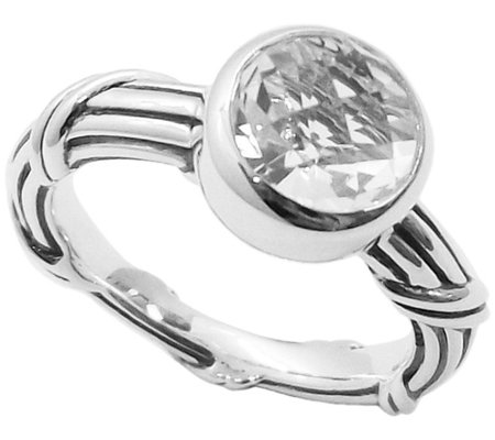 Peter Thomas Roth Fantasies Sterling Rock Crystal Ring