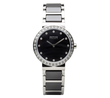 Bering Women's Stainless Black Dial Watch