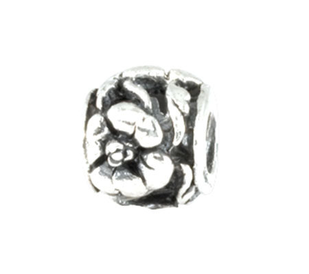 Prerogatives Sterling Flower Bead