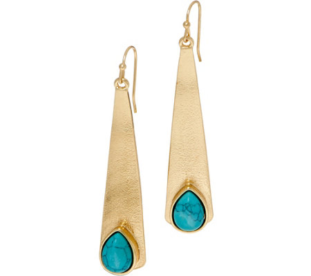 As Is Samantha Wills Here Comes The Sun Drop Earrings Qvc