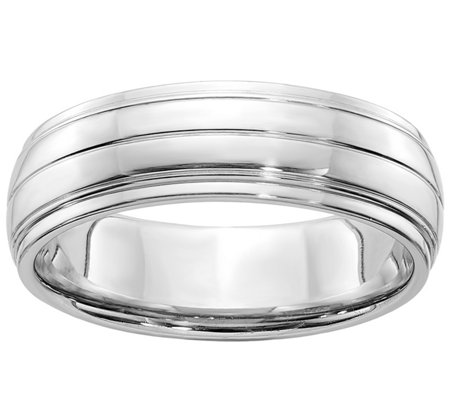 Sterling Silver 6mm Satin Finish Band Ring