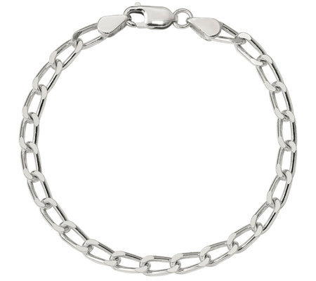 Sterling 5 1mm Cuban Link Bracelet 10 0g