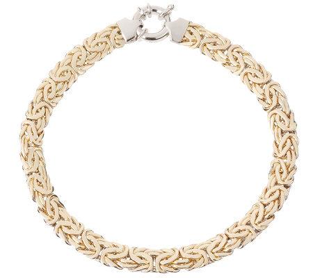 7 1 4 Bold Reversible Byzantine Bracelet 14k Gold