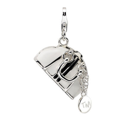 Amore La Vita Sterling Dimensional Purse Charm
