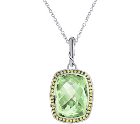 Peter Thomas Roth Sterling Fantasies Halo Pendant on Chain