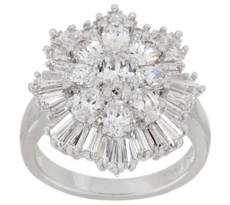 """As Is"" The Elizabeth Taylor 3.70cttw Simulated Diamond Ring"