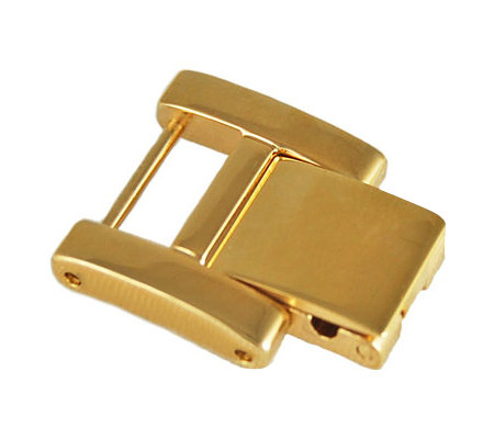 Ecclissi Facets Goldtone Stainless Steel WatchExtender