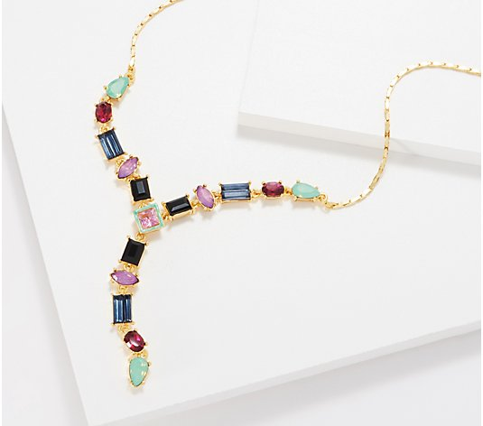 LOGO Links by Lori Goldstein Legacy Colorful Mixed Stone Necklace