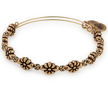 Alex and Ani Blossom Beaded Bangle