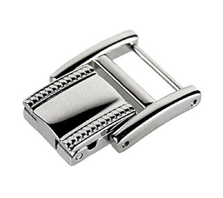 Ecclissi Facets Stainless Steel Watch Clasp