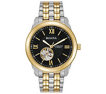 Bulova Men's Two-Tone Automatic Watch - J387767