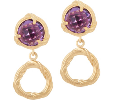 Peter Thomas Roth 18K Gold Fantasies Gemstone Drop Earrings