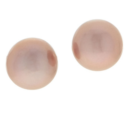 Honora 14K Gold Ming Cultured Pearl Stud Earrings