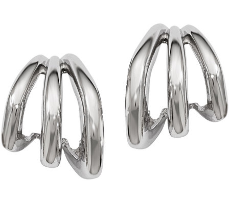 Sterling Graduated Earrings by Silver Style