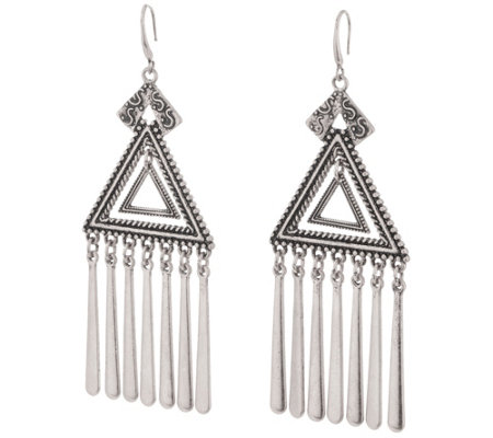 Linea by Louis Dell'Olio Inca Triangular Earrings