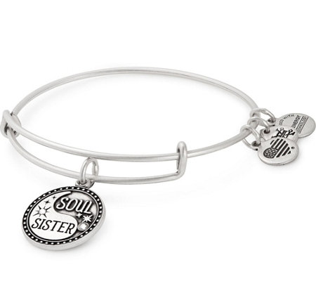 Alex and Ani Soul Sister Charm Bangle