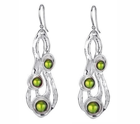 Hagit Gorali Sterling Cultured Freshwater PearlDangle Earring